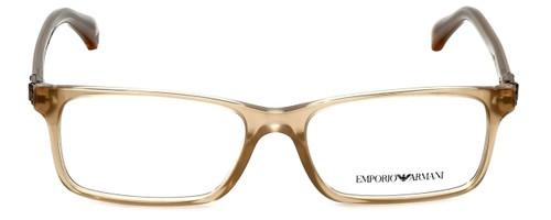 Emporio Armani Designer Eyeglasses EA3005-5084 in Opal Brown Pearl 51mm :: Custom Left & Right Lens