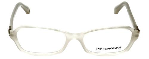 Emporio Armani Designer Eyeglasses EA3009-5082 in Opal 54mm :: Rx Bi-Focal