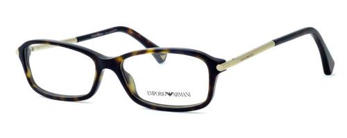 Emporio Armani Designer Eyeglasses EA3006-5026 in Tortoise 51mm :: Custom Left & Right Lens