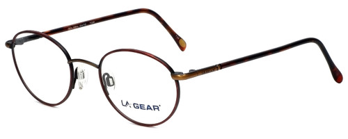LA Gear Reading Glasses Golden Gate in Tortoise with Blue Light Filter + A/R Lenses