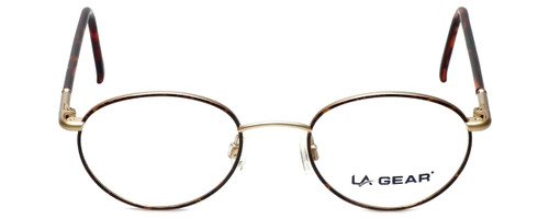 LA Gear Reading Glasses Golden Gate in Amber with Blue Light Filter + A/R Lenses