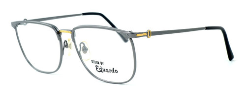 Fashion Optical Reading Glasses E2055 in Gunmetal with Blue Light Filter + A/R Lenses