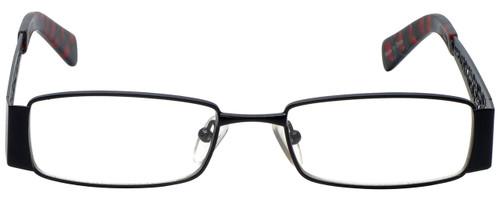 Calabria Designer Eyeglasses 812-BLK in Black 49mm :: Custom Left & Right Lens