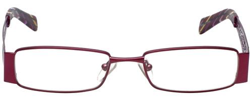 Calabria Designer Eyeglasses 812-PUR in Purple 49mm :: Custom Left & Right Lens
