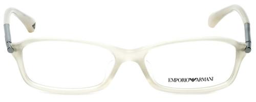 Emporio Armani Designer Eyeglasses EA3006F-5082 in Opal Beige 53mm :: Rx Single Vision