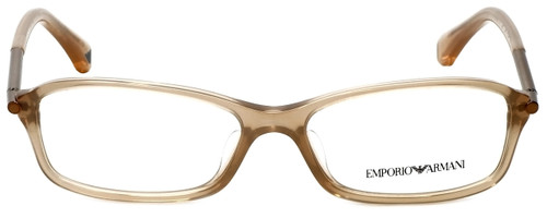 Emporio Armani Designer Eyeglasses EA3006F-5084 in Opal Brown Pearl 53mm :: Rx Single Vision