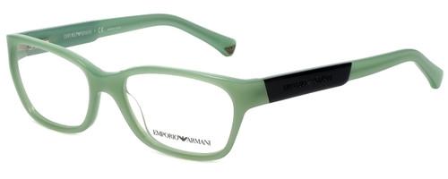 Emporio Armani Designer Eyeglasses EA3004-5085-50 in Aqua Green Opal 50mm :: Progressive