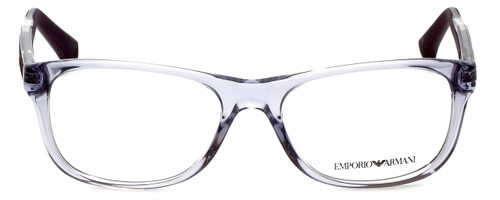 Emporio Armani Designer Eyeglasses EA3001-5071-52 in Violet Transparent 52mm :: Rx Bi-Focal