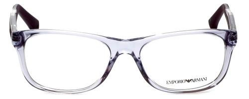 Emporio Armani Designer Reading Glasses EA3001-5071-52 in Violet Transparent 52mm