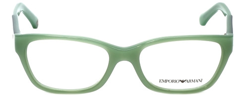 Emporio Armani Designer Reading Glasses EA3004-5085-50 in Aqua Green Opal 50mm