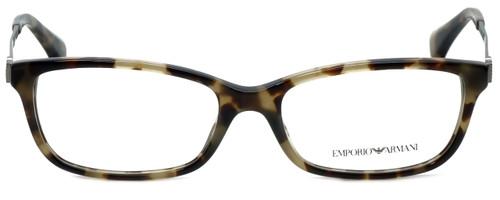 Emporio Armani Designer Reading Glasses EA3031-5234 in Havana 55mm