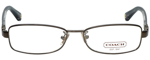 Coach Designer Eyeglasses HC5005-9034-53 in Dark Silver 53mm :: Custom Left & Right Lens