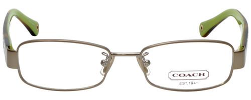 Coach Designer Eyeglasses HC5001-9020-48mm Tortoise Brown Green Rx Single Vision