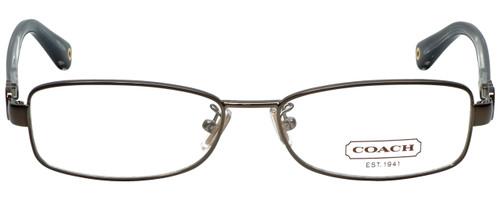 Coach Designer Eyeglasses HC5005-9034-53 in Dark Silver 53mm :: Rx Single Vision
