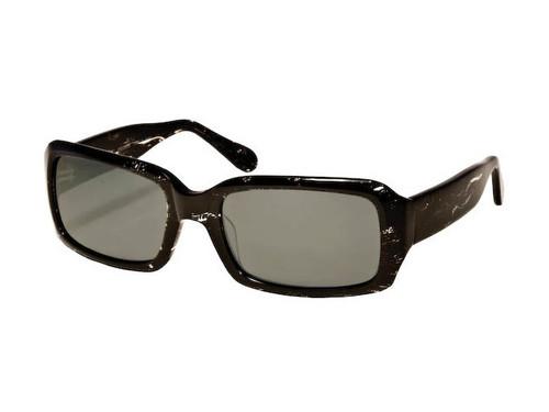 Reptile Polarized Sunglasses: Scarlet in Black & Grey