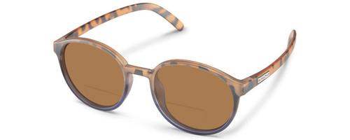 Suncloud Low Key Polarized Bi-Focal Reading Sunglasses