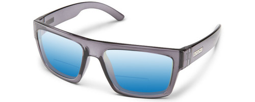 1381e4ba69 Suncloud Flatline Polarized Bi-Focal Reading Sunglasses