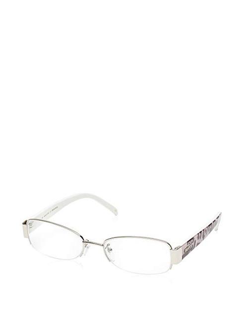 Emilio Pucci Designer Eyeglasses EP2132-045-53 in Silver 53mm :: Custom Left & Right Lens