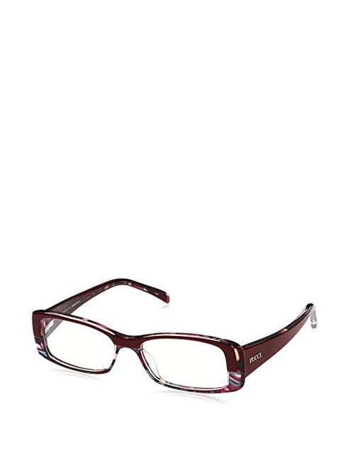 Emilio Pucci Designer Eyeglasses EP2651-692-50 in Wine 50mm :: Custom Left & Right Lens