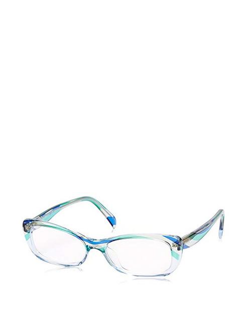 Emilio Pucci Designer Eyeglasses EP2687-455-51 in Sky Blue 51mm :: Custom Left & Right Lens