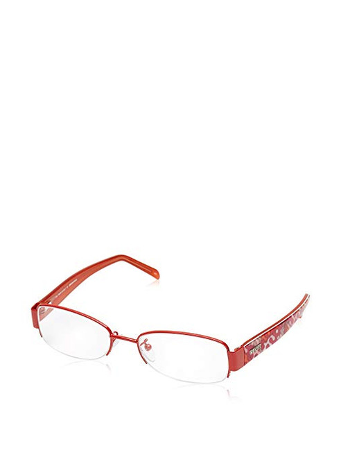 Emilio Pucci Designer Eyeglasses EP2132-800-53 in Orange 53mm :: Progressive