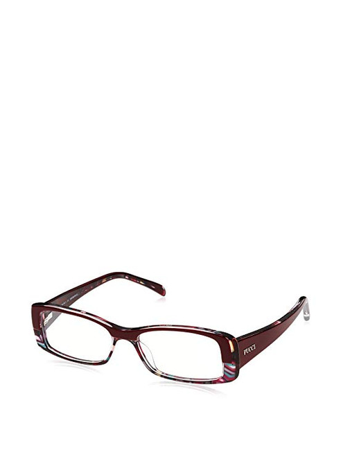 Emilio Pucci Designer Eyeglasses EP2651-692-50 in Wine 50mm :: Progressive