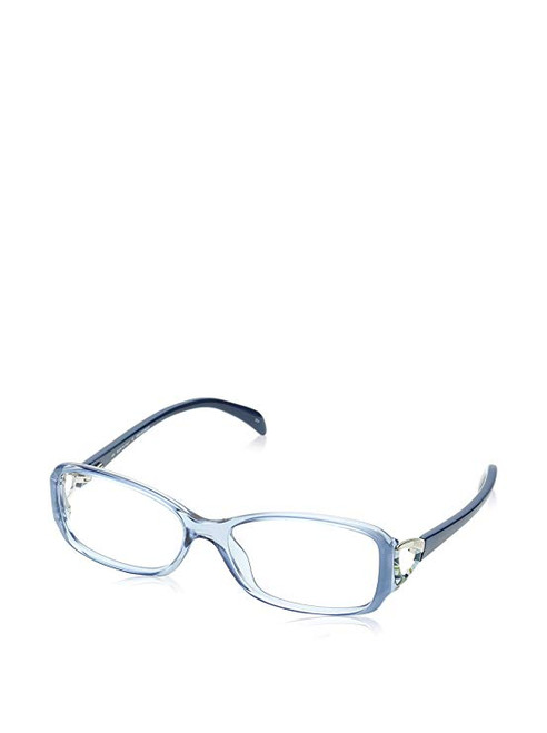 Emilio Pucci Designer Eyeglasses EP2675-462-53 in Crystal Blue 53mm :: Progressive
