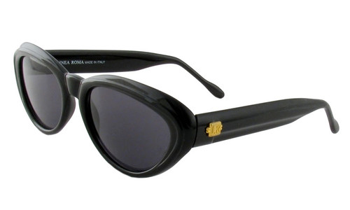 Linea Roma 321 397 in Black Designer Sunglasses