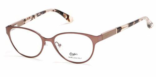 Candie's Designer Eyeglasses CA0139-047 in Satin Brown 50 mm :: Progressive
