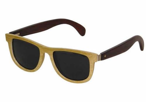 Moda Vision Natural Bamboo Polarized Sunglasses