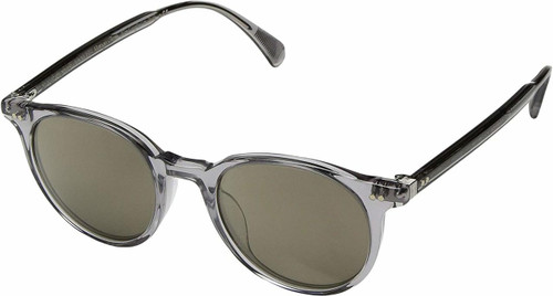 d2bb1270189 Oliver Peoples Sunglasses Delray in Smoke with Gold Flash Lenses