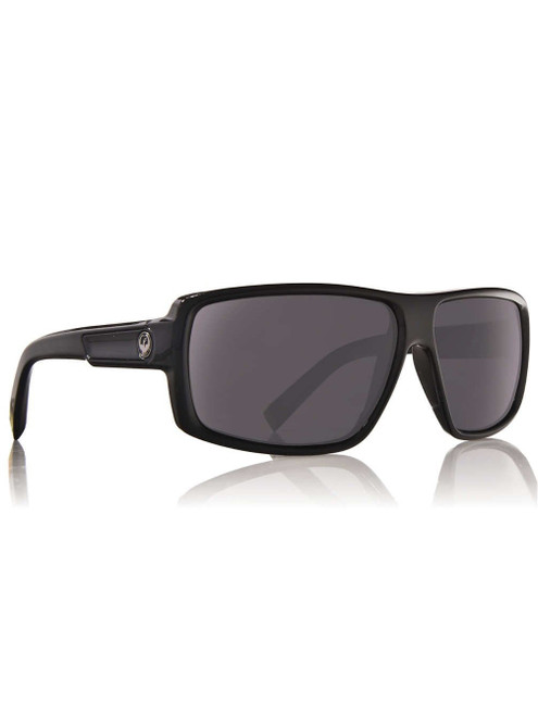 Dragon Alliance Double Dos Sunglasses in Black with Grey Lenses