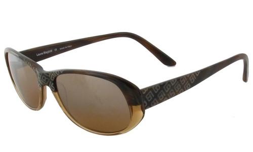 Laura Biagiotti 85399 Brown Designer Sunglasses
