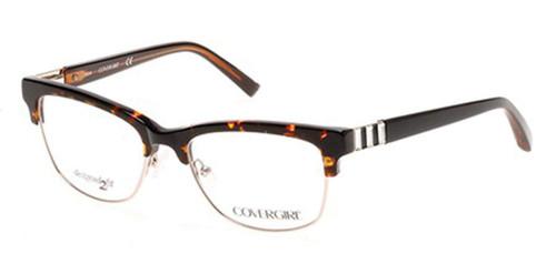Cover Girl Designer Eyeglasses CG0461-052 in Tortoise 53mm :: Progressive