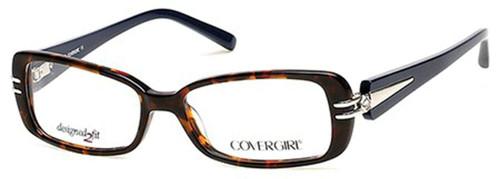 Cover Girl Designer Eyeglasses CG0451-056 in Tortoise 54mm :: Progressive