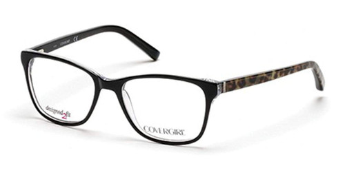 Cover Girl Designer Reading Glasses CG0459-005 in Black 53mm