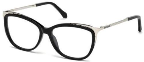 Roberto Cavalli Designer Eyeglasses RC5031-001 in Black 54mm :: Custom Left & Right Lens