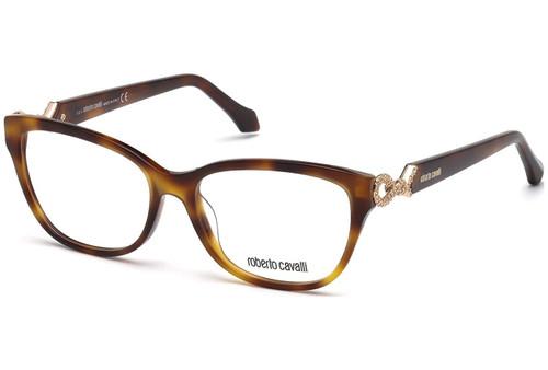 Roberto Cavalli Designer Eyeglasses RC5017-052 in Tortoise 54mm :: Rx Single Vision