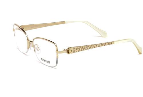 Roberto Cavalli Designer Eyeglasses RC0961-028 in Gold 53mm :: Rx Bi-Focal