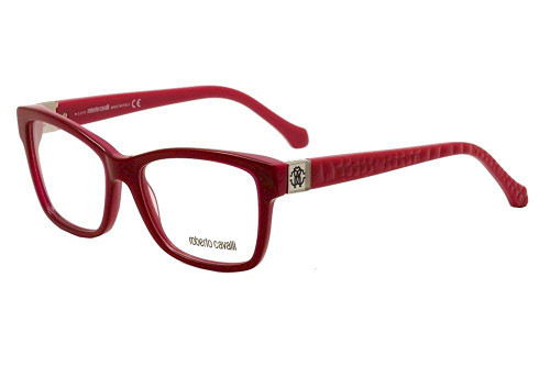 Roberto Cavalli Designer Reading Glasses RC0755-074 in Red 54mm