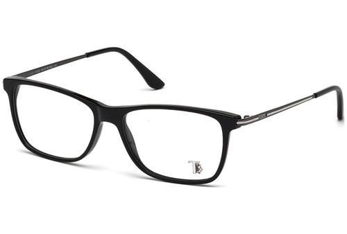 Tod's Designer Eyeglasses TO5134-001 in Black 54mm :: Rx Single Vision