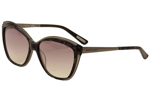 Guess  Designer Sunglasses GM0738-05C in Black with Violet Gradient Lenses