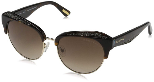 Guess  Designer Sunglasses GM0777-52F in Tortoise with Amber Gradient Lenses