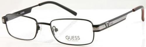 Guess Designer Eyeglasses GU9062-BLK in Black 47mm :: Rx Single Vision