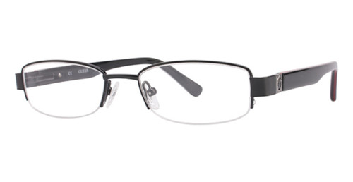 Guess Designer Eyeglasses GU9060-BLK in Black 47mm :: Rx Single Vision