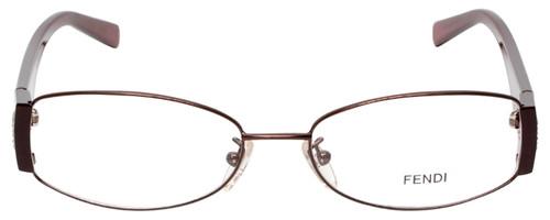 Fendi Designer Eyeglasses F606R-210 in Bordeaux 54mm :: Custom Left & Right Lens