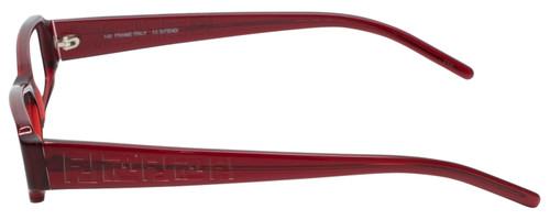 Fendi Designer Eyeglasses F664-618 in Deep Red 51mm :: Custom Left & Right Lens