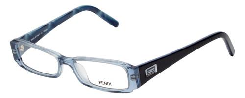 Fendi Designer Eyeglasses F891-442 in Ocean Blue 47mm :: Custom Left & Right Lens