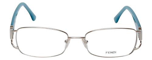 Fendi Designer Eyeglasses F848R-028 in Blue Jean 54mm :: Rx Single Vision
