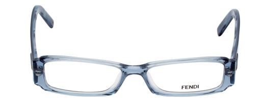 Fendi Designer Eyeglasses F891-442 in Ocean Blue 47mm :: Rx Single Vision